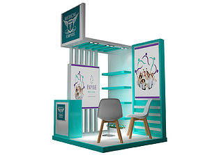 3D Booth Exhibition Stand a220
