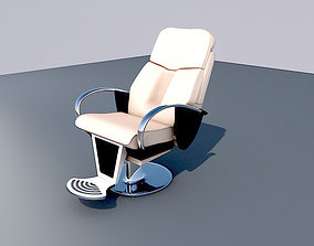 3D model Barber Chair make-up