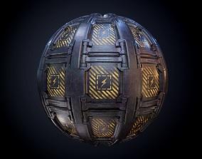3D Sci-Fi Military Seamless PBR Texture 65