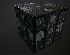 Futuristic PBR Textures P7 3D model