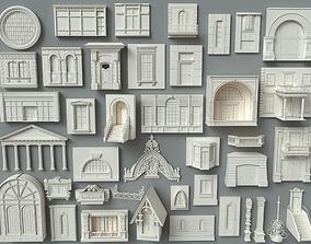 Building Facade Collection-4 - 40 peace facade 3D
