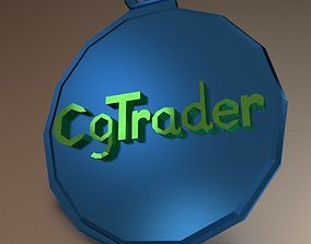 Cgtrader Keychain 3D print model