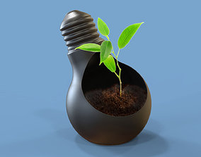 cottum plant pot B 3D printable model