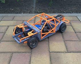 1-10 RC Drift Chassis 3D print model