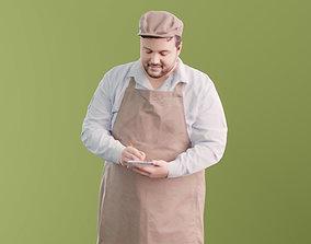 Yalgin 10151 - Standing Waiter 3D model