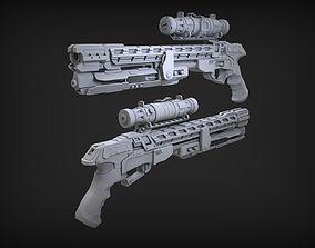 3D Sci-Fi Weapon