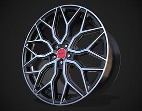 Vossen HF2 3D asset