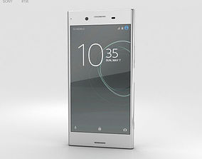 Sony Xperia XZ Premium Luminous Chrome 3D