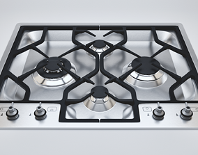 3D model Kitchen Gas Stove