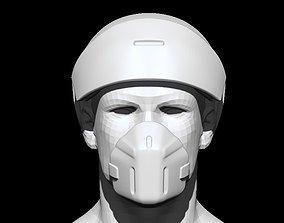 3D printable model Medic sci-fi helmet