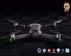 DJI Mavic 2 Pro 3D asset rigged