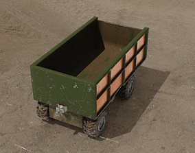 realtime Container truck 3D model