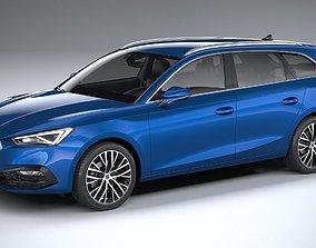 3D model Seat Leon Sportstourer 2020