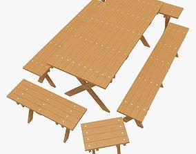 Outdoor Furnitur-2 3D