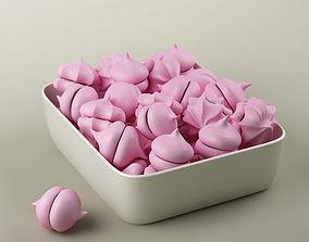 3D Cake 18 meringues