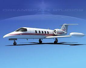 Gates Bombardier Learjet 35 V10 3D model