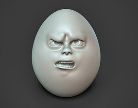 Angry Egg 3D printable model