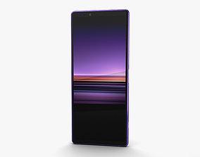 3D Sony Xperia 1 Purple