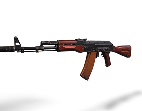 AK 47 3D model VR / AR ready