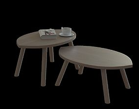 IKEA stockholm nesting table 3D model