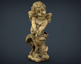 Golden Angel 3D model