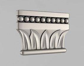 capitals 3D print model Capitals