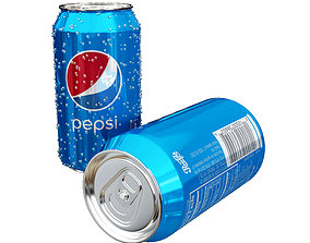 3D model Pepsi Can energy