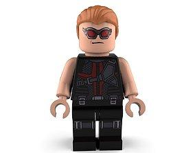 3D model Hawkeye Lego
