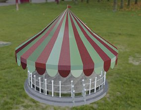 3D model animated Carousel