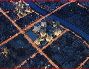 Modern City Animated 133 3D