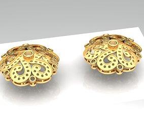 3D print model Tops earrings