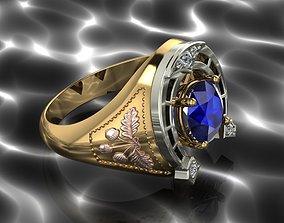 HORSESHOE Ring 3D printable model