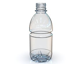 PET Bottle PCO - 1810 - 28 mm 330 mL - for water - 3D 2
