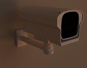 3D metal CCTV Camera