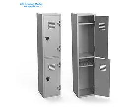 old 3D print model Locker