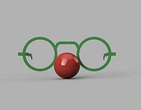 3D printable model Set Funny Glasses
