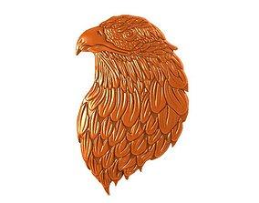 Eagle bas -relief 3D print model