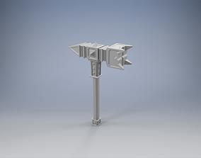 Warhammer of the Dwarven King 3D print model