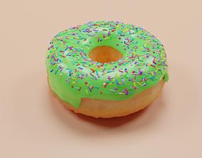 Donut restaurant 3D