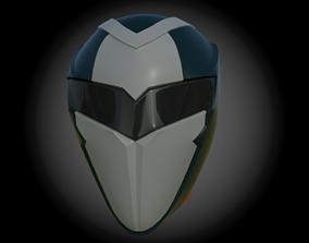 3D printable model Terror in Resonance helmet