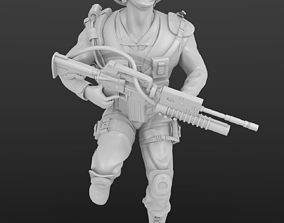 Solid soldier model for 3D printing and more 3dprinting