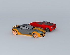 Racing car coche 3D model