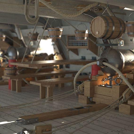 Sailship Gundeck