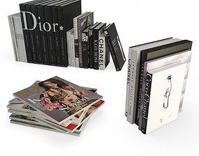 3D model books mode