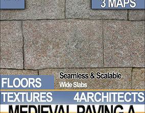 3D model Medieval Paving A