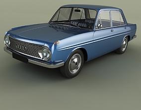 DKW F102 Sedan 3D model