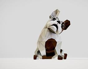 3D model Dog french bulldog