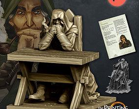 The Wanderer - Presupported 3D print model