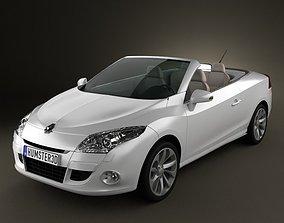 3D Renault Megane CC 2011