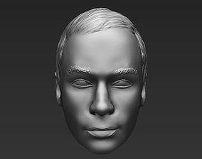 3D model Sheldon Cooper Big Bang Theory standard version 1